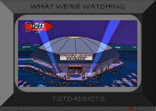 Springfield Coliseum Simpsons