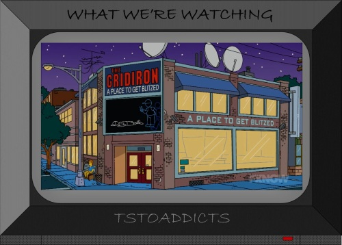 The Gridiron A Place To Get Blitzed Simpsons