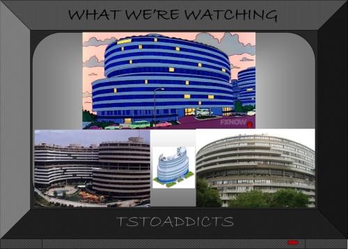 Watergate Hotel Scandal-gate Hotel Simpsons