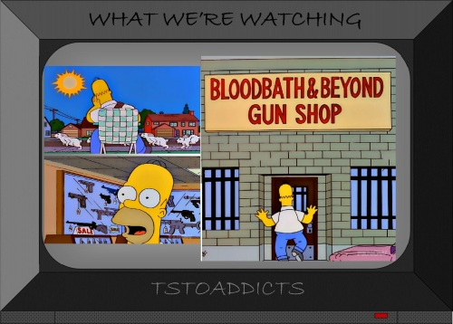 Bloodbath & Beyond Gun Shop Simpsons 2