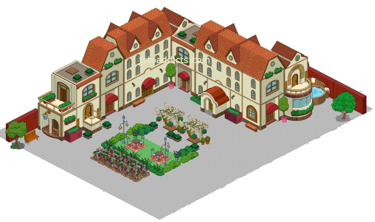 Springfield Heights 101 Classic MansionThe Simpsons