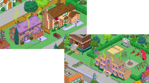 Stinky Flanders House & Springfield Elementary