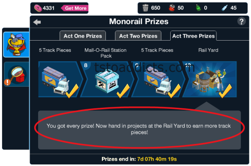 Act 3 Personal Prizes Complete
