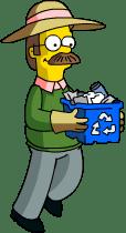 Ned Flanders Garbage Full