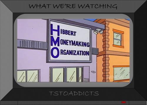 Hibbert Moneymaking Organization H.M.O. Simpsons