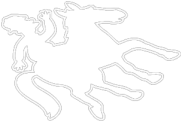 Jockey Chalk Outline