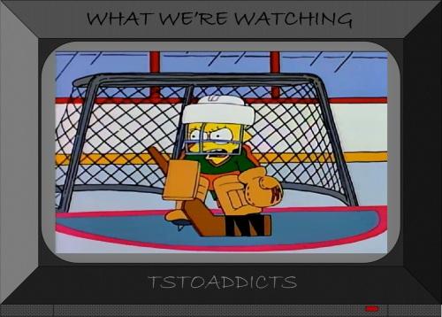 Lisa Simpson Hockey Goalie