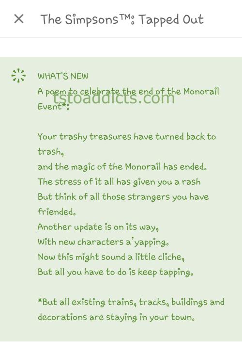 Monorail Poem