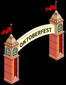 Oktoberfest Gate Complete