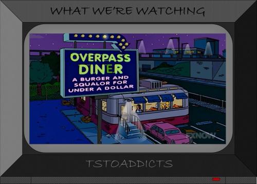 Overpass Diner Simpsons