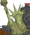Planet of the Apes Statue of Liberty TSTO