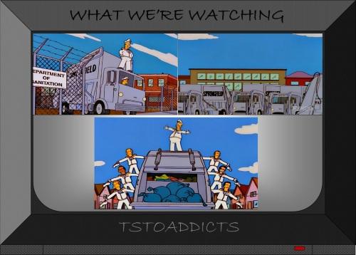 Springfield Garbage Trucks Simpsons