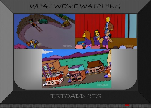 Trash of the Titans Simpsons