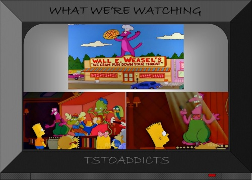 Wall E. Weasel's Simpsons