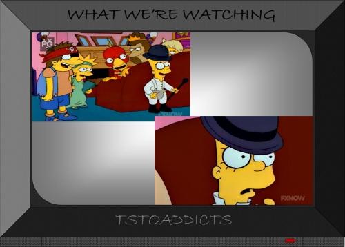 Clockwork Orange Bart Simpsons