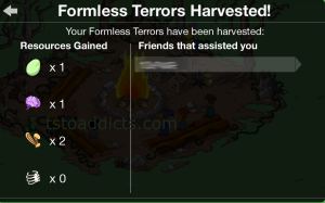 Formless Terrors Harvested 2