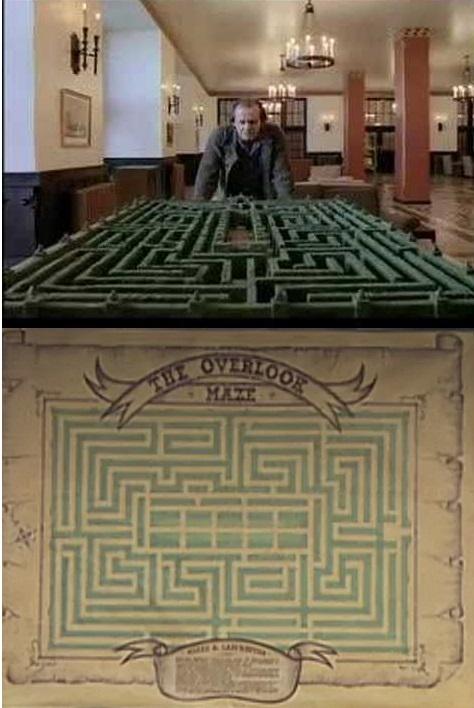 Overlook Hotel Maze The Shining