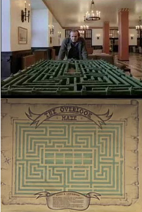 Wookieecorp brings you a maze ing design the simpsons for Overlook hotel decor