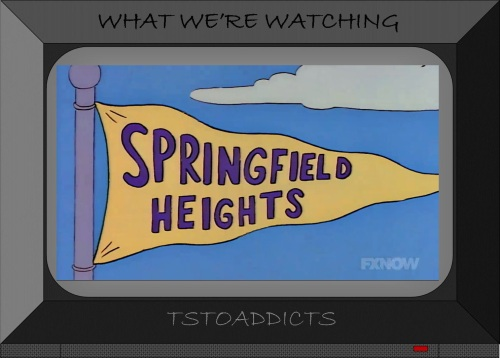 Springfield Heights Pennant Simpsons