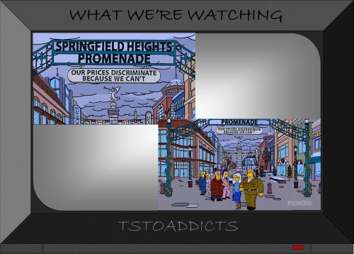 Springfield Heights Promenade Simpsons