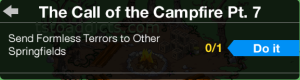 The Call of the Campfire Part 7