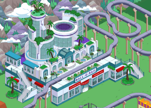 Wookiee Mall-O-Rail TSTO