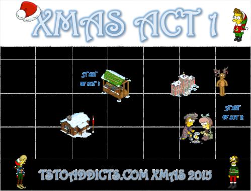 Act One Calendar Xmas 2015