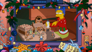 Gingerbread Simpsons