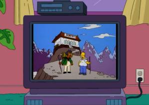 Kwik-E- Mart Corporate Homer & Apu