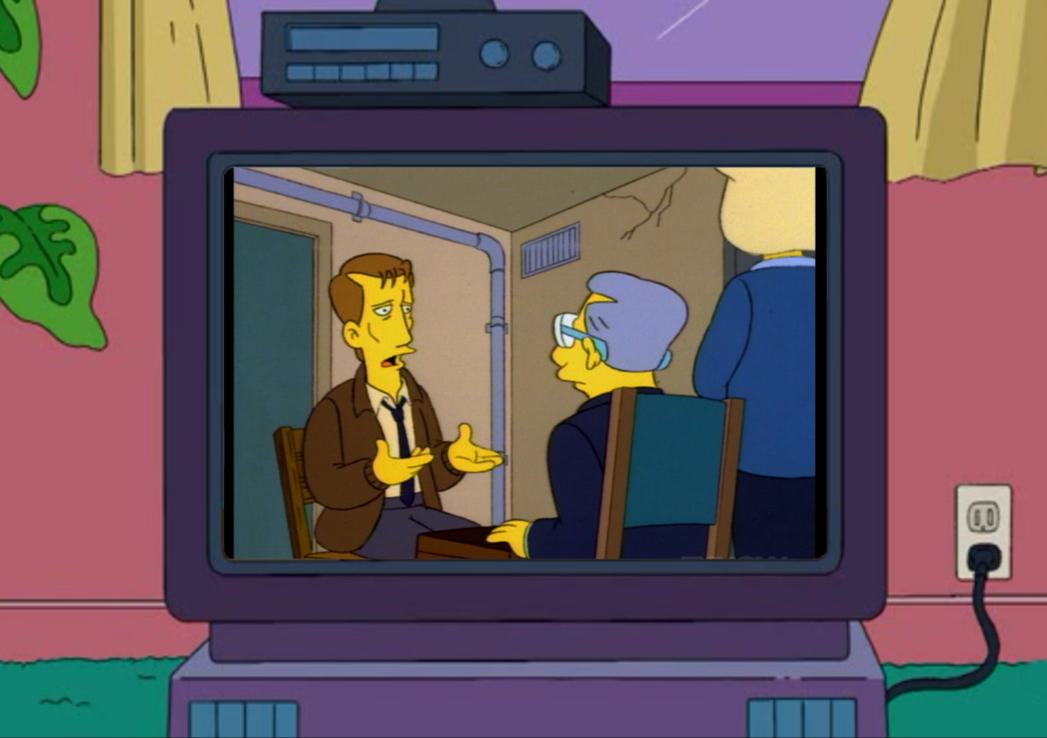 Where Did THAT Come From: Kwik-E-Mart Central OfficeThe ... James Woods Simpsons