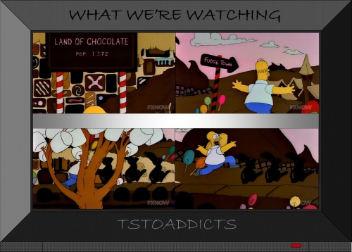Land of Chocolate Simpsons