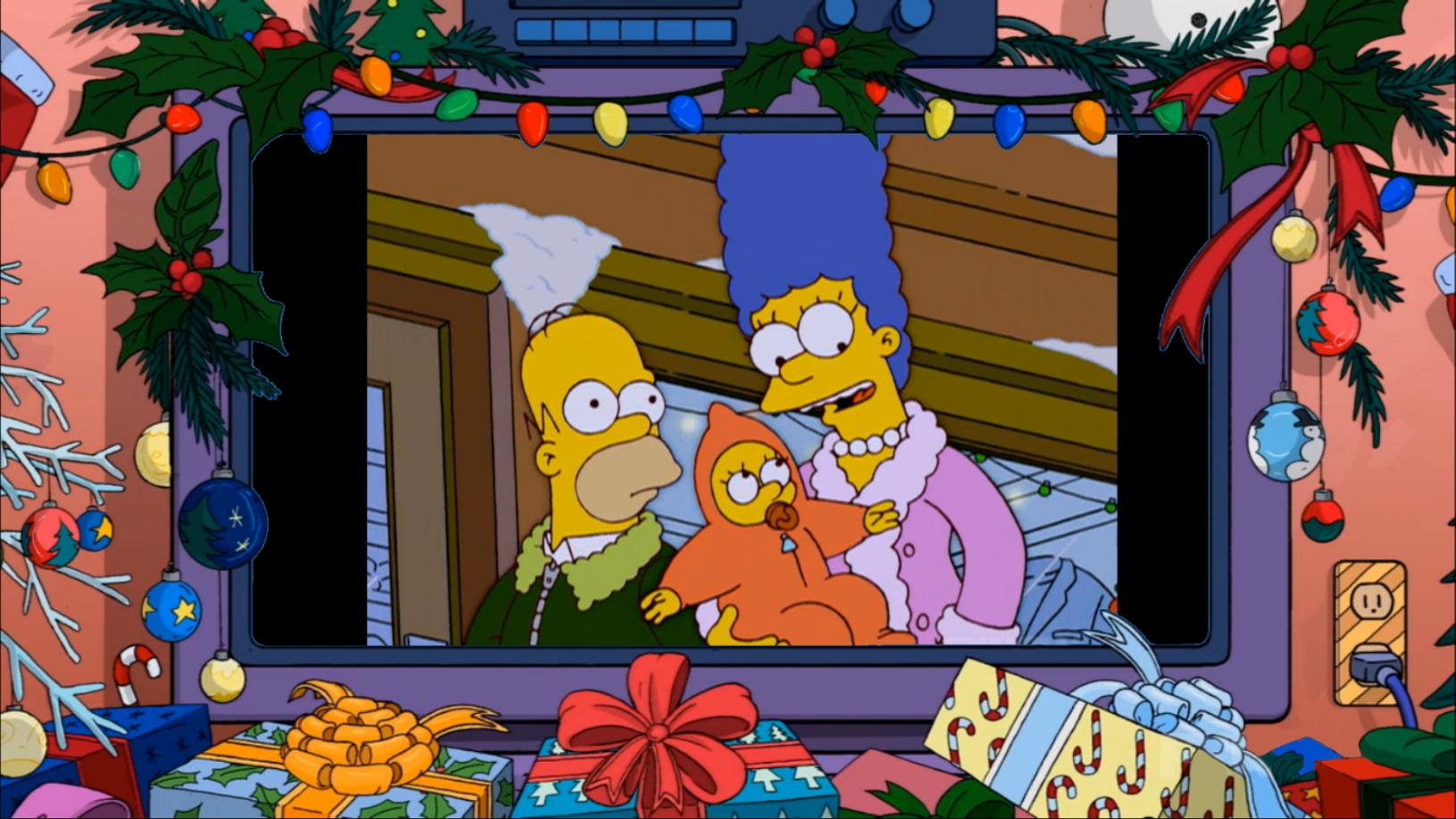 Simpsons Christmas Decor