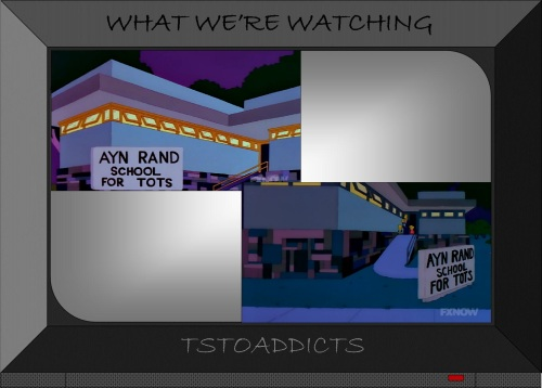 Ayn Rand School for Tots Simpsons