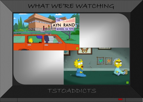Ayn Rand School for Tots The Longest Daycare Simpsons