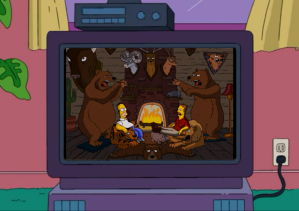 Bears in Hunter lodge