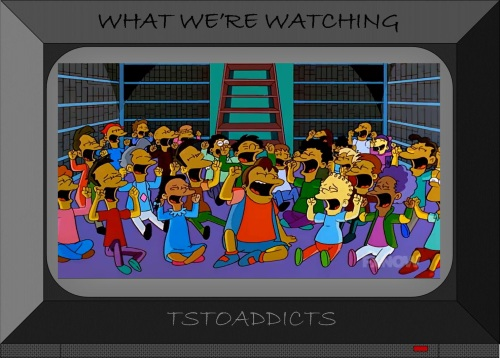 celebrating children Simpsons