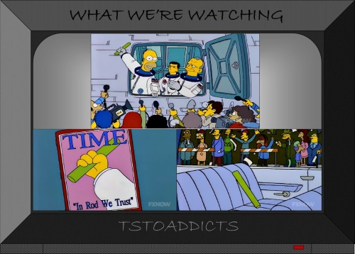Deep Space Homer Inanimate Carbon Rod Simpsons