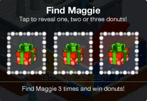 Find Maggie Bonus 3 Donut Boxes