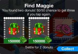 Find Maggie Bonus Donut Boxes