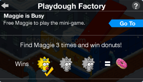 Maggie is Busy