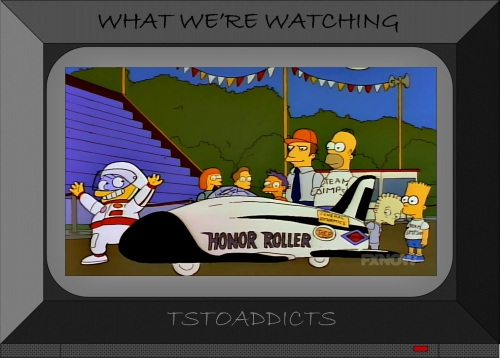 Martin Prince Honor Roller derby car Simpsons