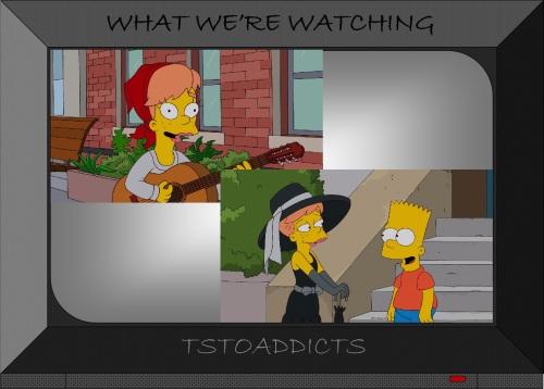 Mary Wrestlemania Spuckler Simpsons