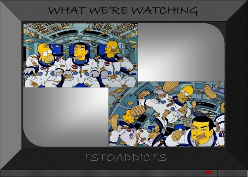 NASA Deep Space Homer Potato Chips Simpsons 2