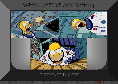 NASA Deep Space Homer Potato Chips Simpsons
