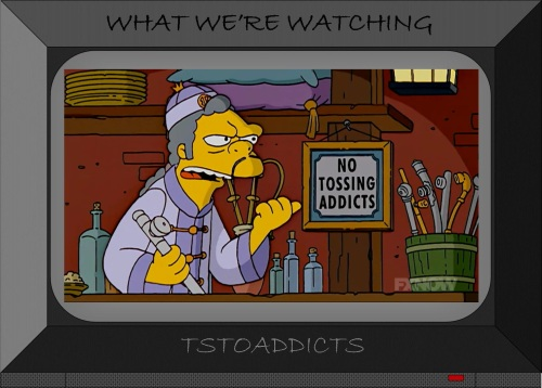 No Tossing Addicts Simpsons