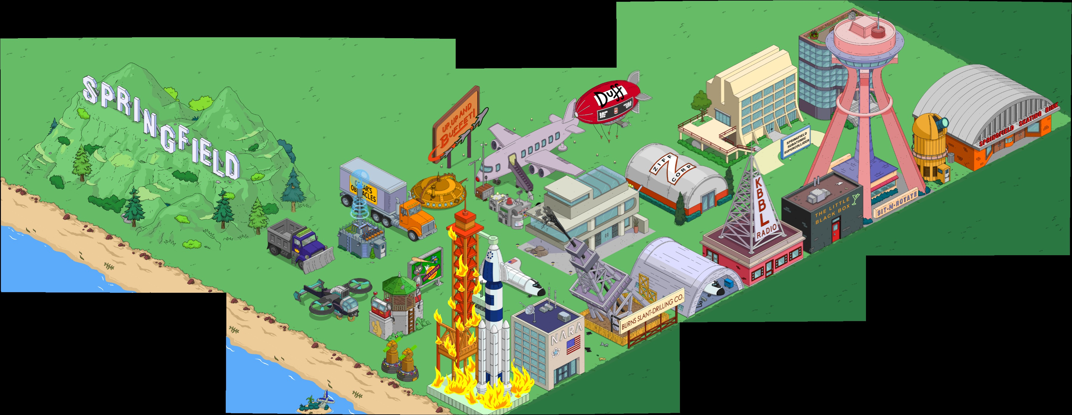 simpsons tapped out space shuttle simulator - photo #7