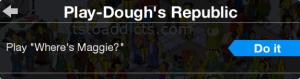 Play-Dough's Republic Play Where's Maggie