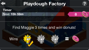 Playdough Factory Maggie Game Start 1