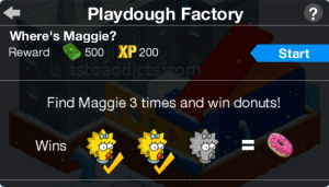 Playdough Factory Maggie Game Start 3