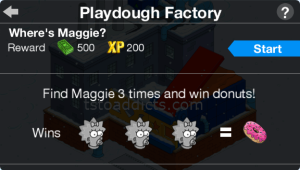 Playdough Factory Maggie Game Start